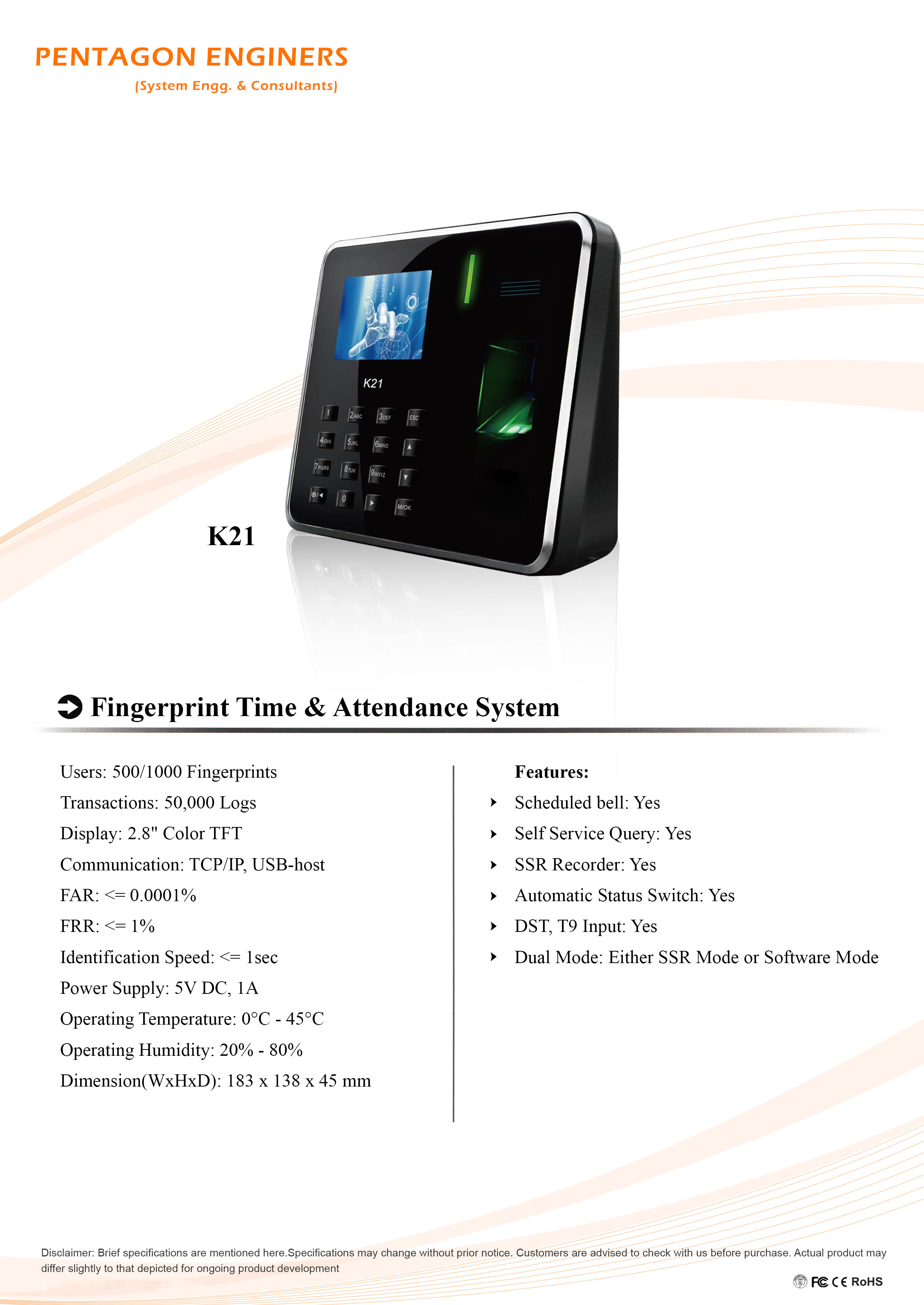 fingerprint attendance system thesis Results of the biometric based attendance system confirm improved biometric-based attendance system: online fingerprint verification system msc thesis.