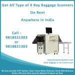 Baggage X Ray Scanner on Rent