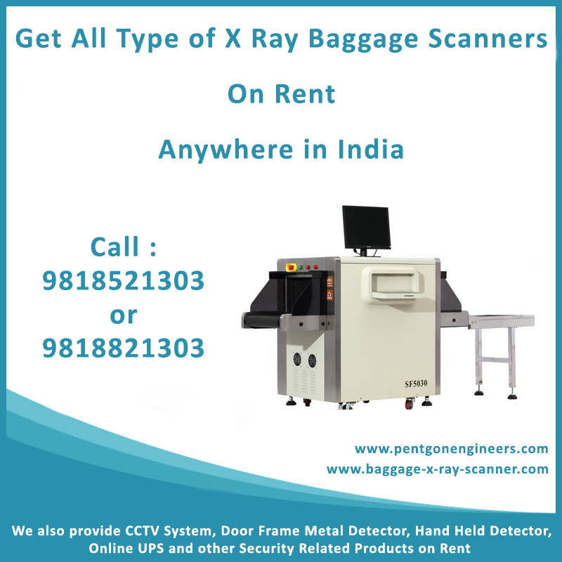 Baggage Scanner on Rent